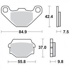 Pastilla Freno Moto SBS 586 LS REAR Kawasaki/Darbi