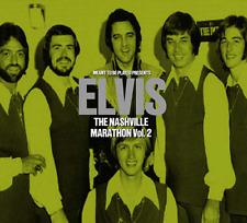 "ELVIS PRESLEY - ""NASHVILLE MARATHON VOL.2"" (2019) - NEW CD"