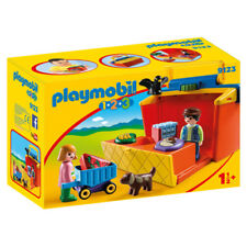 Playmobil 123 Take Along Market Stall 9123 NEW