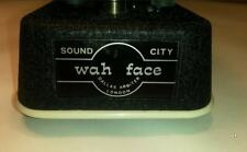 Dallas Arbiter Wah-Face JEN,italy-red-fasel-fully-serviced-slight gagan mods 60s