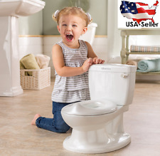 Potty Training Mini Toilet Kids Pee Flush Trainer Seat Chair Baby Toddle