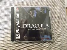 Dracula: The Last Sanctuary (Sony PlayStation 1, 2002)  COMPLETE