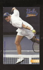 UCLA Bruins--1999 Tennis Pocket Schedule