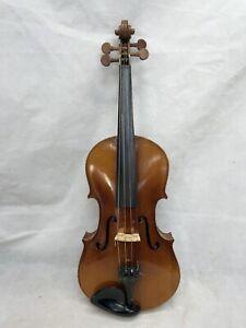 """Vintage Violin For Restoration. Back Measures 14.25"""""""