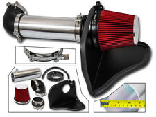 RED COLD AIR INTAKE KIT + HEAT SHIELD FOR 05-10 Charger Magnum HEMI 5.7L 6.1L V8