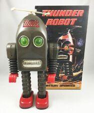 Robot - Robot Marcheur à Pile en Tôle - Thunder Robot (Ha Ha Toys) TR2015