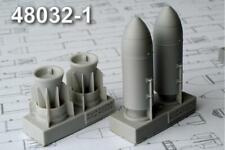 Advanced Modeling 1/48 resin ZAB-500Sh Incendiary Bomb w/cone - AMC48032-1