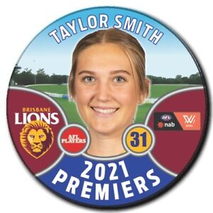2021 AFLW Premiers Player Badge - SMITH, Taylor