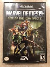 Marvel Nemesis : Rise of the Imperfects ( Nintendo Gamecube , 2005 ),Complete
