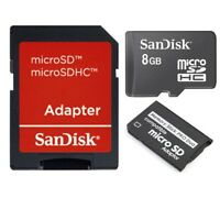 8GB (8GB x 1) MEMORY STICK MSPD PRO DUO CARD FOR PSP 1000 2000 & 3000 SERIES