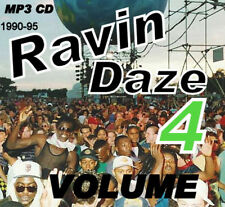 RAVE   ACID HOUSE   MP3 CD   OLD SKOOL     RAVIN DAZE 4