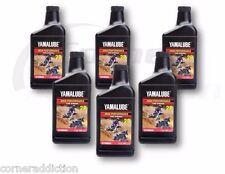Yamalube 2R 2 Stroke High Performance Racing Oil 6 -16 oz Bottles