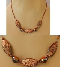 New listing Knot Necklace Copper Strand Celtic Jewelry Handmade Chain Women Fashion New