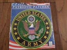 """U.S MILITARY ARMY OVERSIZE BACK PATCH 10"""" X 10""""  OFFICIALLY LICENSED PATCH"""