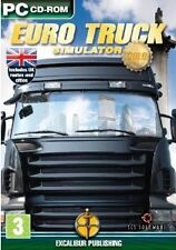 Euro Truck Simulator Gold (PC CD) NEW & Sealed - Despatched from UK