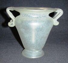 Glas Vase Antikglas Optik ?Museumskopie?