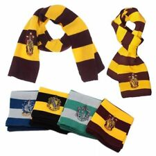 Harry Potter School Gryffindor Slytherin Ravenclaw Hufflepuff Scarf Tie Costumes