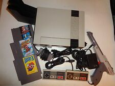 Nintendo NES Console (NTSC) Bundle Controllers Mario 1 2 & 3 Brand New 72 Pin