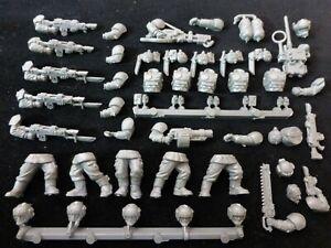 40K Astra Militarum Imperial Guard Cadian Shock Troops : Multi Parts Listing
