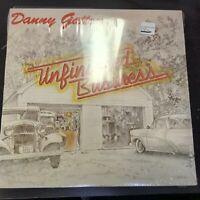 Record Album Danny Gatton Unfinished Business LP VG