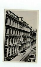 NETHERLANDS Amsterdam antique real photo rppc post card Hotel des Pays Bas