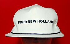 Ford Hat New Holland Tractor K-Brand Golf Strapback Trucker Vintage