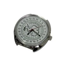 Russian Mechanical watch 24 hr military dial POLAR ANTARCTICA PENGUIN (0642)