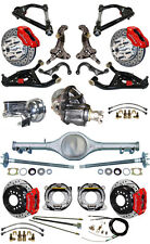 """NEW 2"""" DROP SUSPENSION & WILWOOD BRAKE SET,CURRIE REAR END,ARMS,POSI GEAR,687464"""