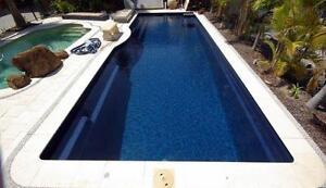 FRANKS POOLS / Fibreglass Pools - DIY Pools Australia . 11.9 x 4.5 mtrs Atlantic