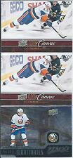 Kyle Okposo  3-Insert Lot  UD Canvas & MVP Territories