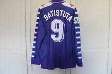 Fiorentina Batistuta 1998 Camisa Manga Larga Retro Argentina Fiorentina XL