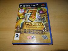 7 Wonders of the Ancient World - Playstation 2 PS2 - Neuf et scellé version PAL