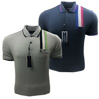 Original Penguin Racing Stripe Golf Polo Shirt - RRP£69.99 - ALL Sizes