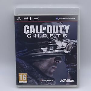 PS3 Playstation 3 Pal Game CALL OF DUTY GHOSTS