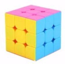 Rubik's Cube Yongjun Yulong 3x3x YJ8602 Pink Stickerless