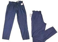 moderne Damenhose Hose  Freizeithose Jeans knitterlook Gr. S 36 Gummibund