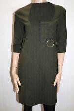 EZPOPSY Brand Military Green Hidden Pocket Shift Dress Size M BNWT #SQ92