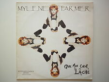 Mylene Farmer Maxi 45Tours vinyle Que Mon Coeur Lâche