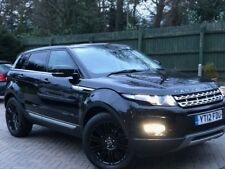 "Land Rover RANGE ROVER EVOQUE DIESEL 2.2 SD4 ""Prestige Lux Pack"" 5dr Automatic"