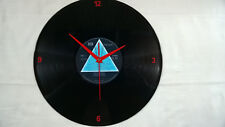 "PINK FLOYD Dark Side Of The Moon 12"" VINYL LP  Wall Clock  - (numbers)"