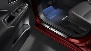 2020 Nissan Versa OEM Door Illuminated Kick Plate Set T99G6-5EE00