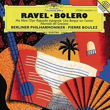 Ravel: Bolero/Ma Mere l'Oye/others - Boulez/Berlin Philharmonic - CD