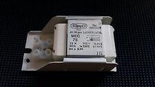 ERC E.R.C. 600491/1 Alimentatore lampade fluorescenti MEC75 NANO 13W 115Vac 60Hz