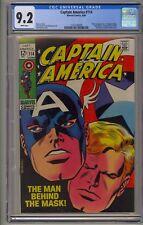 Captain America 114 CGC 9.2 Bucky Barnes Sharon Carter Red Skull Avengers Movie