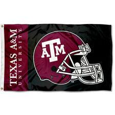 Texas A&M Football Helmet Large Outdoor Flag