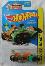 2015 Hot Wheels T- Hunt Jet Threat 4.0, Ships Worldwide, Combine Shipping