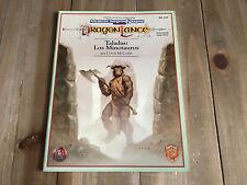 Advanced Dungeons & Dragons DRAGONLANCE - Taladas: Los Minotauros - rol - ZINCO