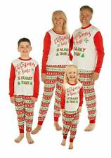 Family Matching Christmas Pyjamas Mums Dads Children and Toddlers