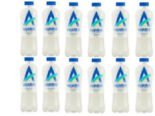 12x Aquarius Lime Water Essential Mineral Magnesium 400ml Bottles *BBE FEB 2020*