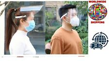 NEW Full Face Covering Anti-Fog Shield Clear Glasses Face Protection